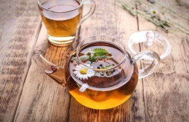 Травяной чай, фитосбор из ромашки