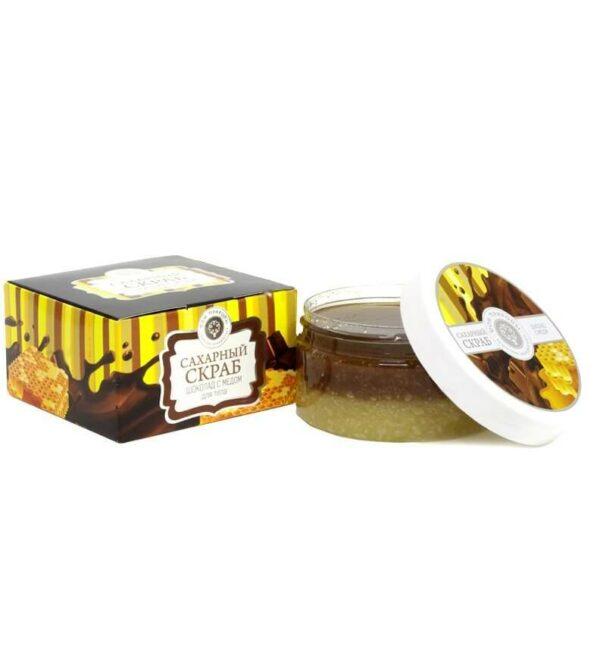 Сахарный скраб «Шоколад с медом»