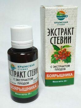 Экстракт стевии с экстрактом плодов боярышника
